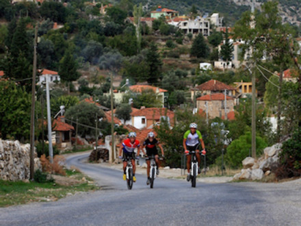 Turkey Cycling Inland