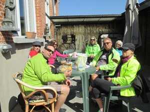 Beer Cycling Break Radfahren Pause Fietsen Bier