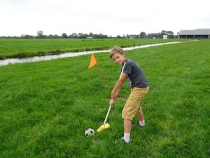 Farmers Golf Wooden shoes Klompen Klumpen