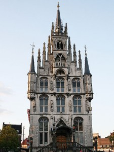 Gouda City Hall Rathaus Stadshuis