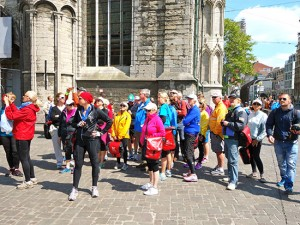 Group City Walk Gruppe Stadführung Groep Stadswandeling