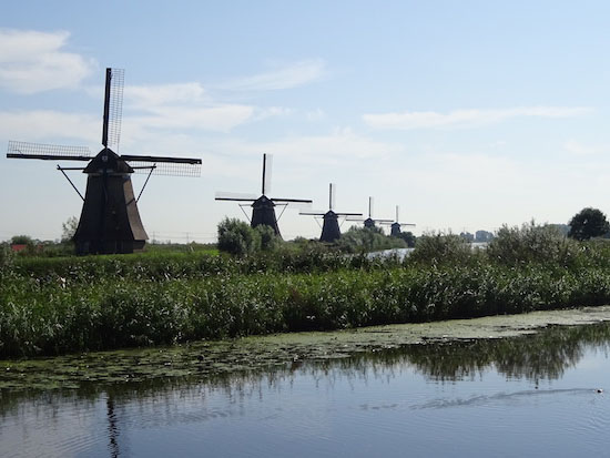 Kinderdijk Wind Mill Molen Mühle