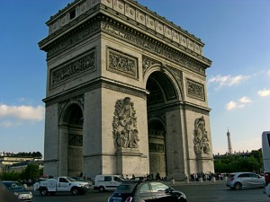 Paris & Beyond, In & Um Paris, Île de France & Parijs Arc de Triomphe Triompfbogen