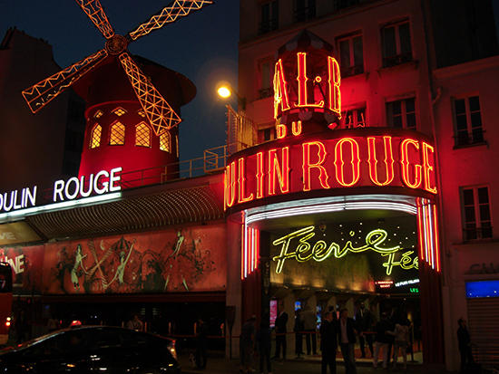 Paris Moulin Rouge Parijs