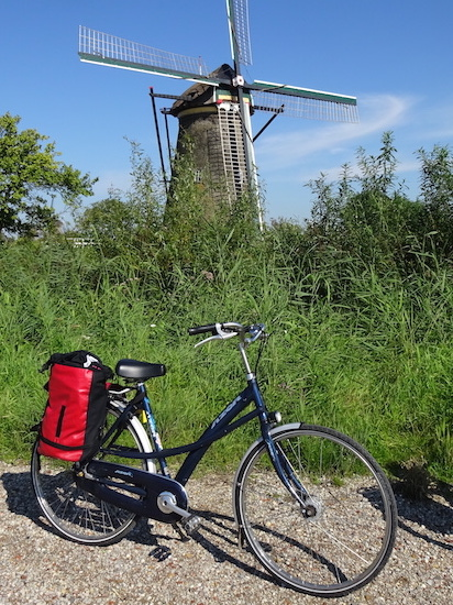 Wind Mill Molen Mühle Bike Bicycle Fiets