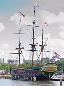 VOC schip barge dutch east indian company