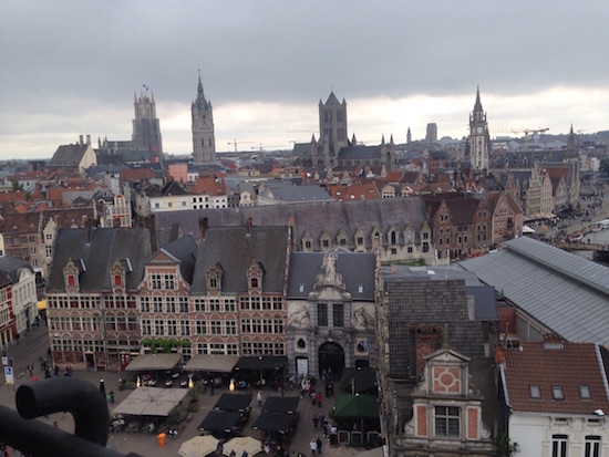 Ghent Gent view