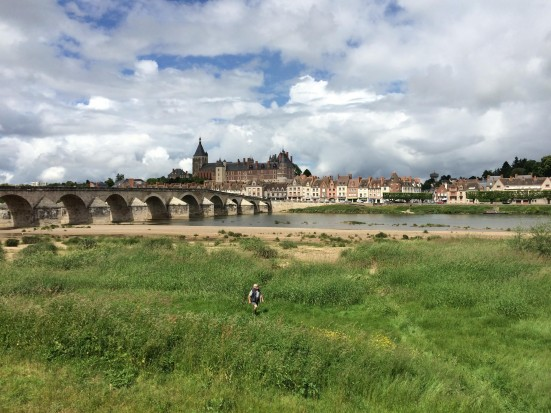 Loire Valley Gien bridge brug France