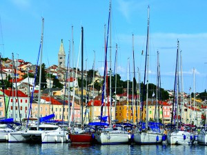 EKB Islands Kvarner Bay Harbour sailing boats Mali Losinj