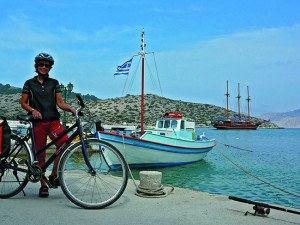 Greek Cyclades CYC Bike Boat Harbour