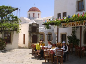 Greek Cyclades CYC Patmos Tavern