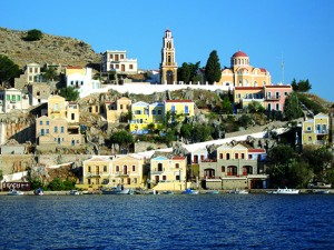 Greek Cyclades CYC Village Sea