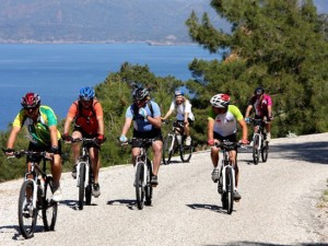 Turkey cycling Climb peninsula