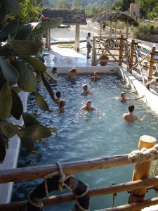 Turkey holiday Dalyan hot baths