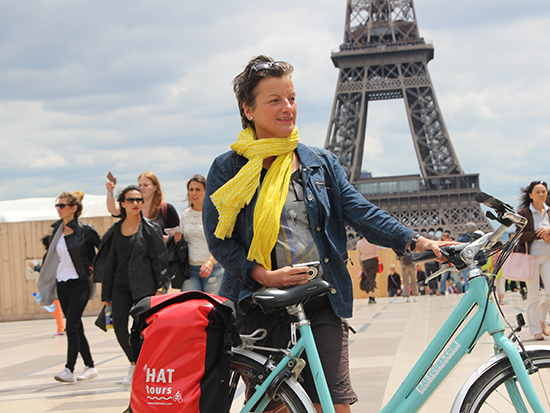 Bike HAT Tours Eiffel Tower