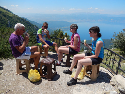 MCD Macedonia Cycling Break on Mountain
